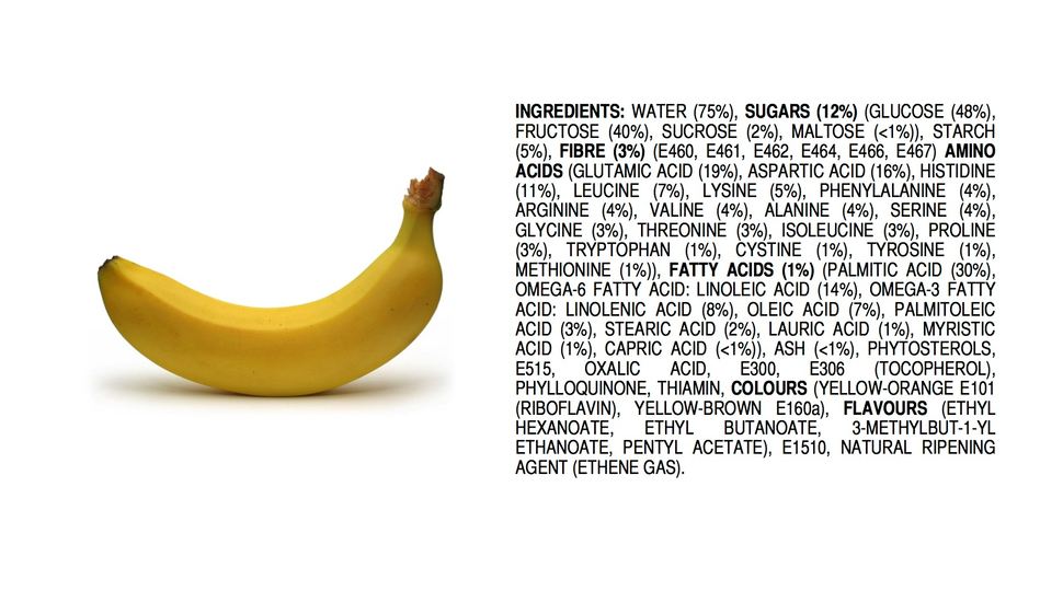 All-Natural Bananas Are Filled With Chemicals